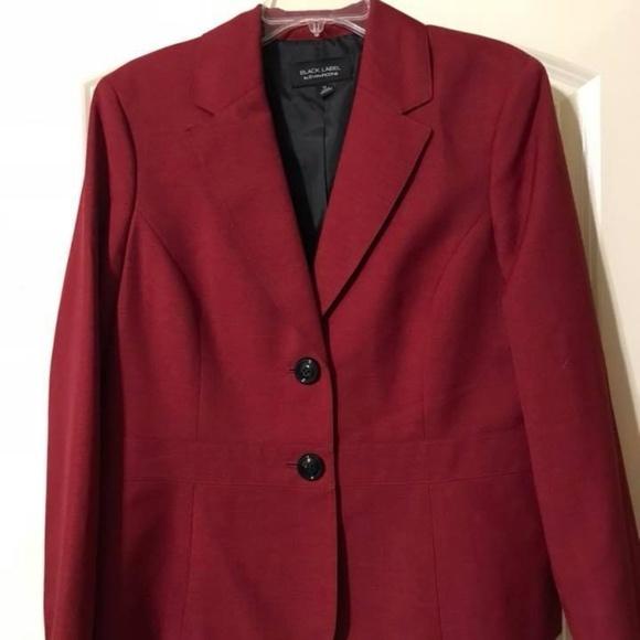 Black Label Jackets Coats Womens Blazer Like New Poshmark